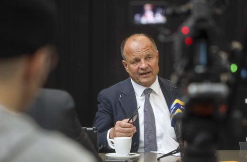 Werner Spec erklärt, warum er wiedergewählt werden will