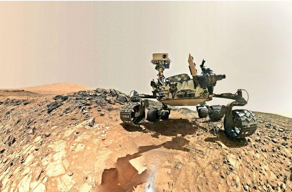 """In der Nasa-Sonde """"Rover Curiosity"""", die auf dem Mars unterwegs ist, steckt auch Technik aus Israel. Foto: AFP"""