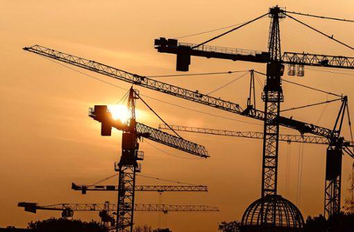 Bauwirtschaft hat Probleme – aber auf hohem Niveau