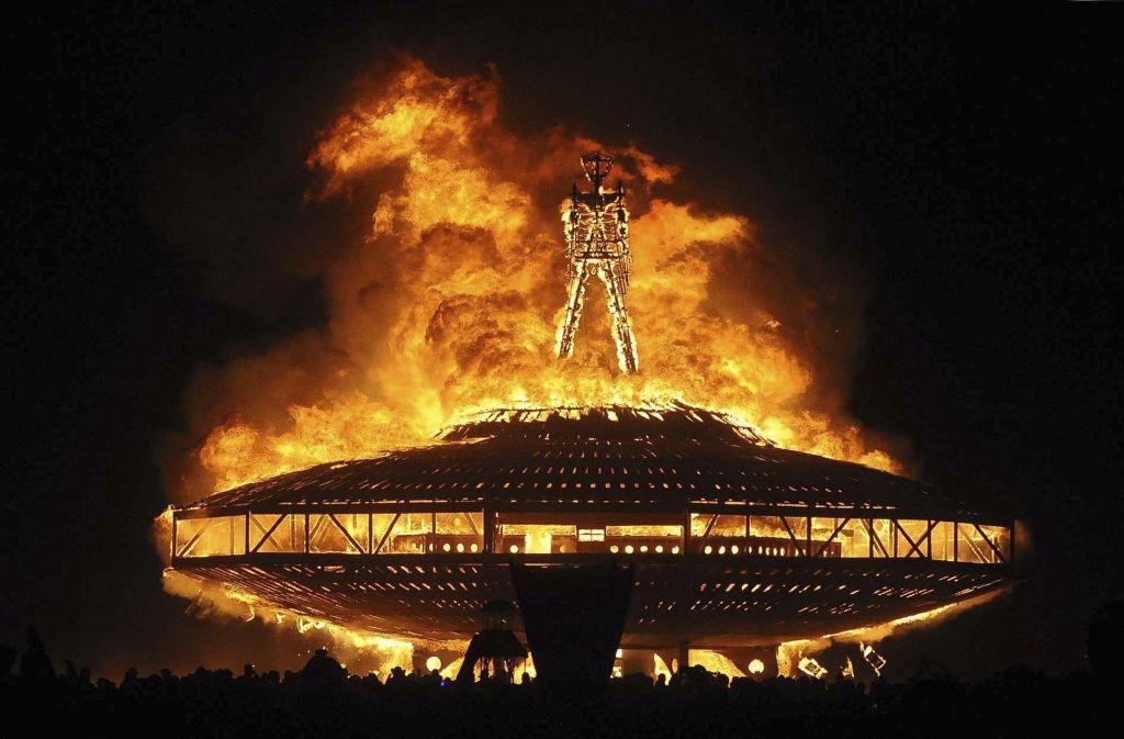 Ein 41-Jähriger ist beim Burning Man Festival in Nevada ums Leben gekommen. (Archivbild) Foto: RGJ