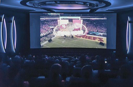 Die Superbowl-Show im Kinosaal