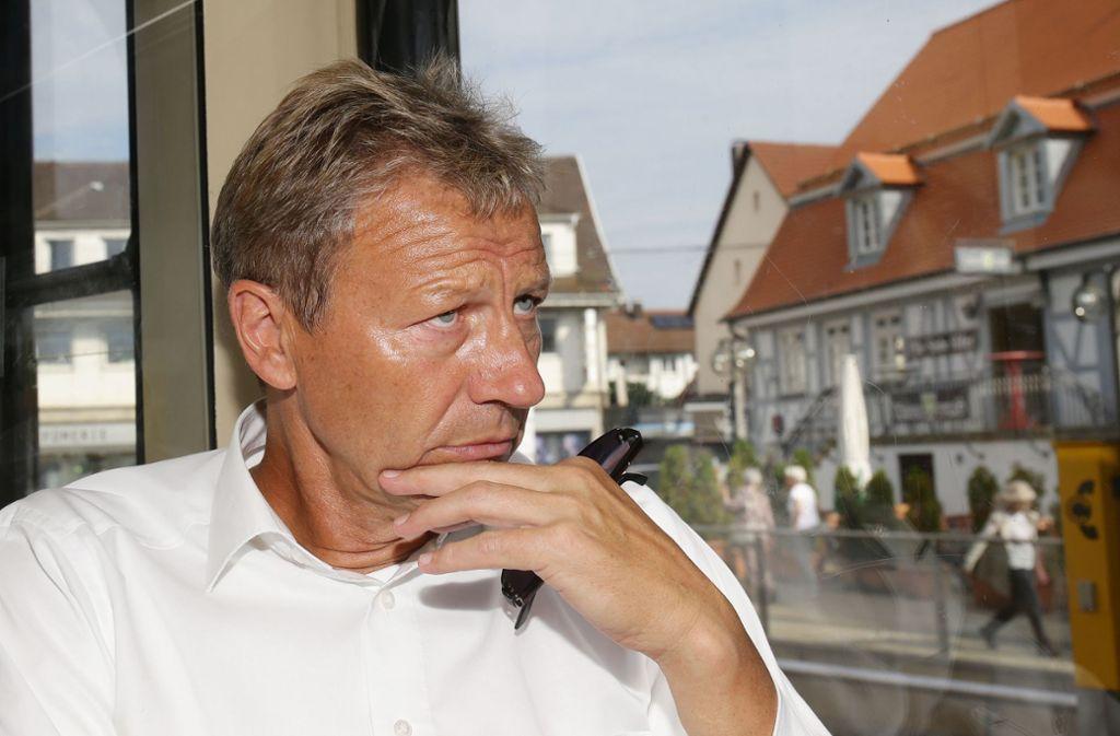 Der Rücktritt von Guido Buchwald wirbelt viel Staub auf. Foto: Pressefoto Baumann
