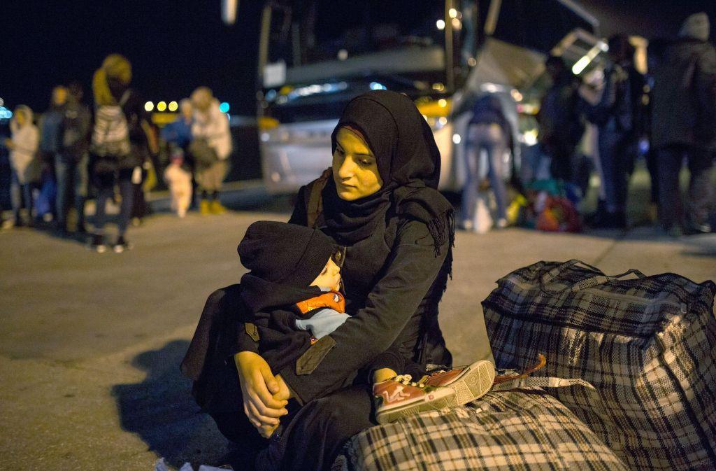Familien werden oft auf ihrer Flucht getrennt. Foto: dpa