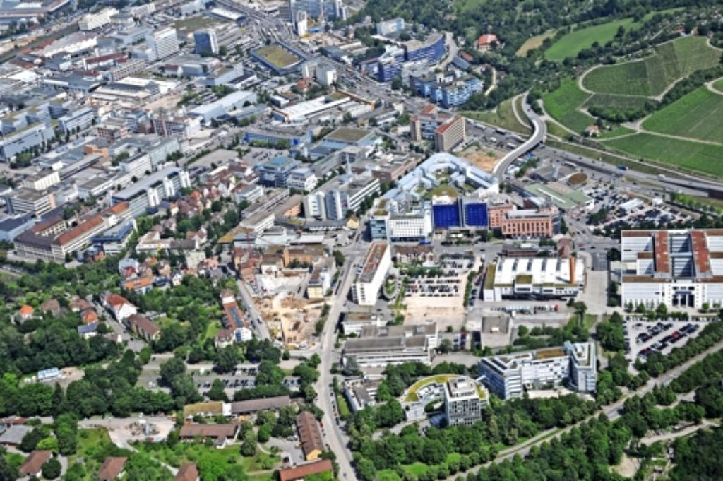 Für das Quartier City Prag wird derzeit ein Verkehrsgutachten erstellt. Foto: