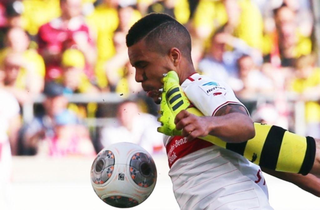 Gegen Borussia Dortmund stand der VfB-Mittelfeldspieler Daniel Didavi erstmals wieder in der Startelf. Foto: Bongarts