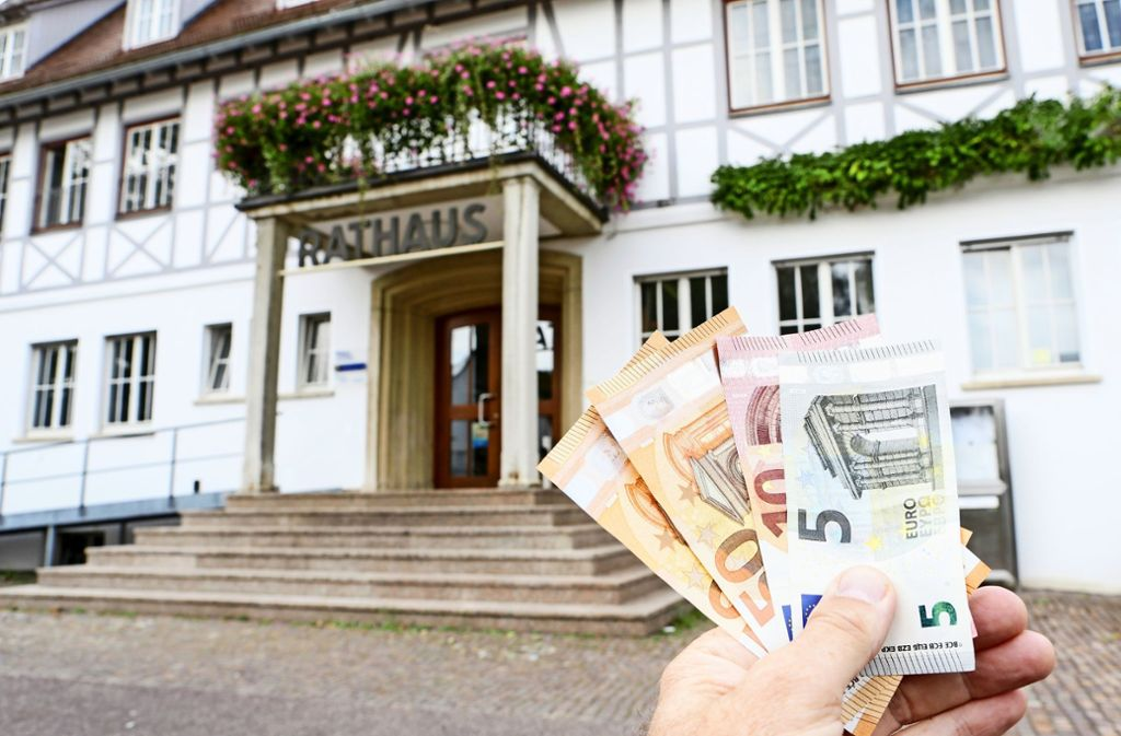 Auf den Konten der Stadt L.-E. sieht es bald mau aus. Foto: Archiv Thomas Krämer