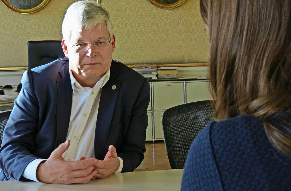 Rektor Stephan Dabbert Foto: Judith A. Sägesser