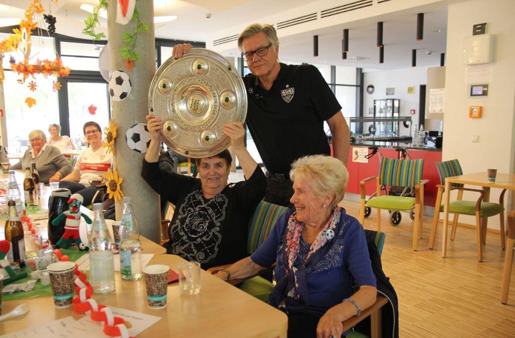 Das Projekt des VfB Stuttgart startet mit zwei kostenlosen Angeboten. Foto: VfB Stuttgart