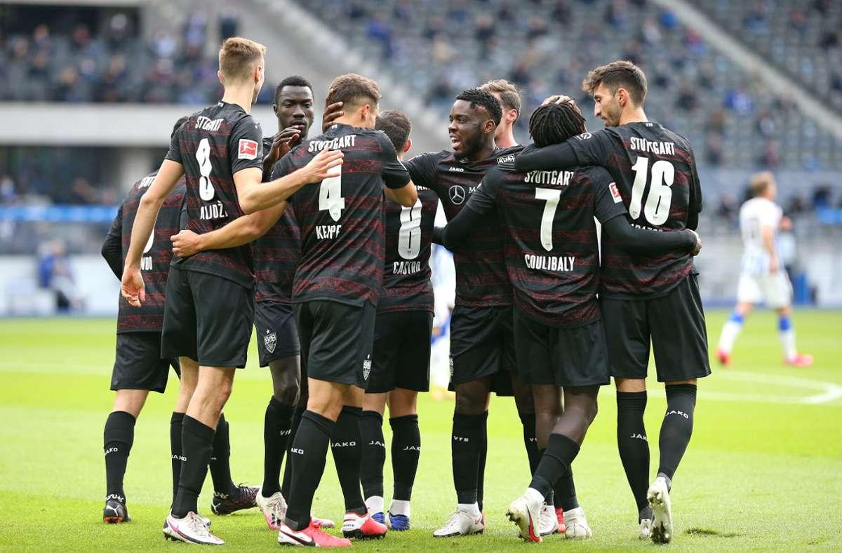 Der VfB Stuttgart zeigt sich nach der Länderspielpause gut aufgelegt. Foto: Baumann