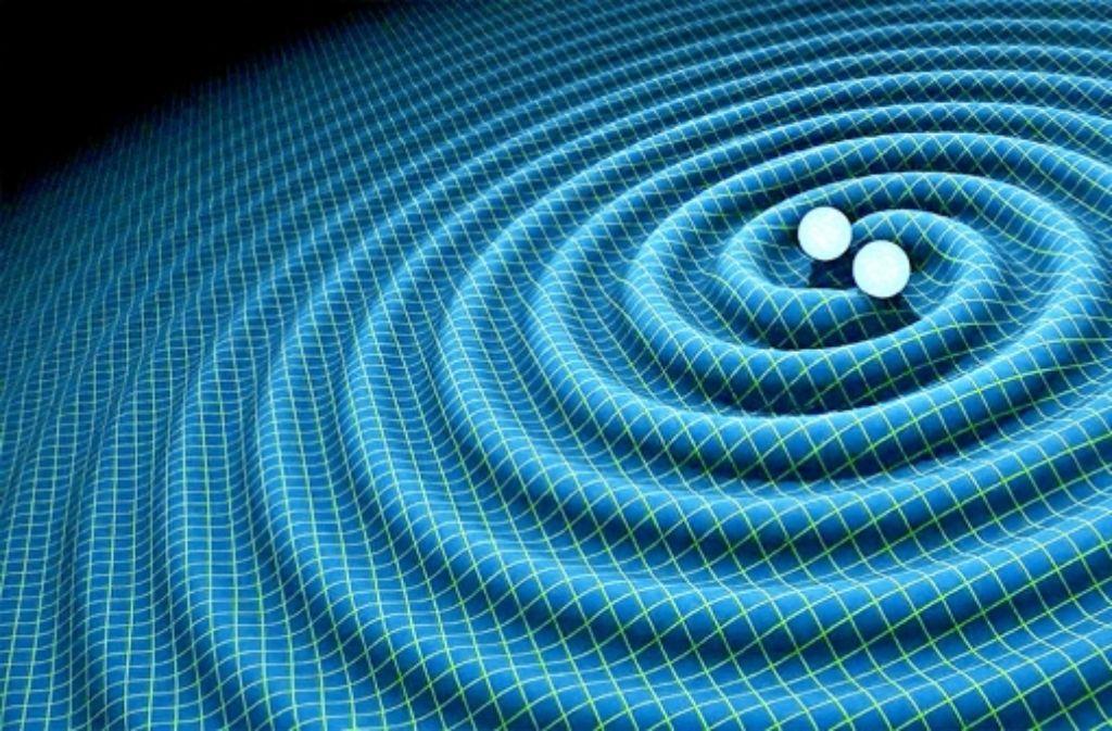 Amerikanische Forscher haben die Erschütterungen des Raumzeit-Kontinuums entdeckt, die von einer Verschmelzung zweier schwarzer Löcher vor mehr als einer Milliarde Jahren ausgesandt worden sind. Foto: