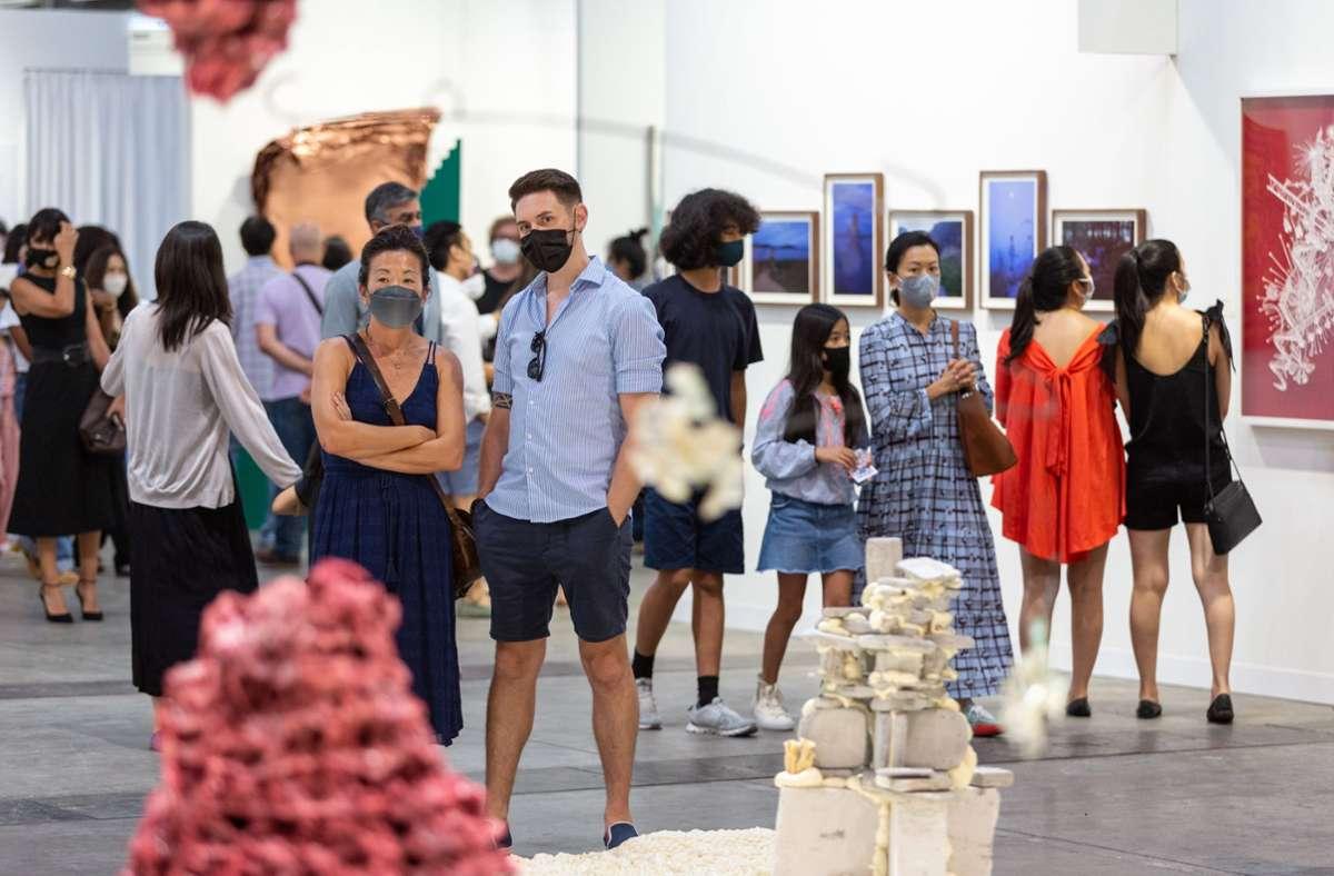 In Hongkong konnte die Ausgabe der Art Basel im Frühjahr stattfinden. Foto: © Art Basel