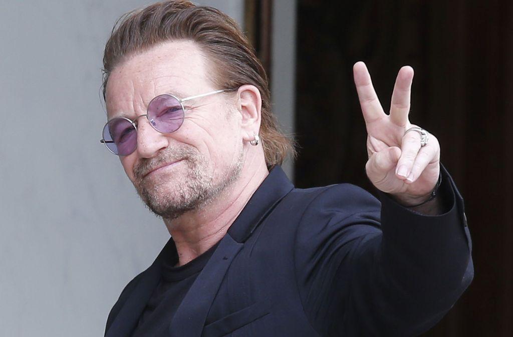 Bono ist zuversichtlich: Die Tour kann weitergehen. Foto: dpa