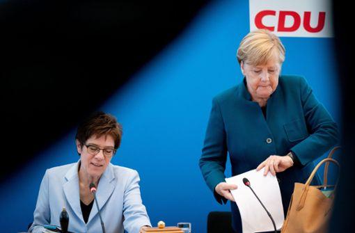 Die CDU-Spitze wappnet sich für den Parteitag