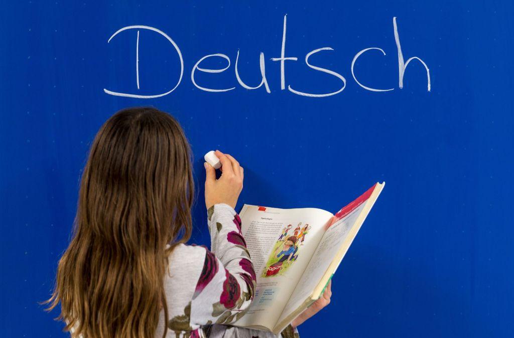 Deutsch macht vielen Grundschülern schwer zu schaffen. Foto: dpa