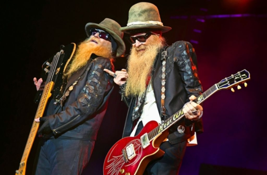 zz top in der schleyerhalle bei den b rten brennt noch. Black Bedroom Furniture Sets. Home Design Ideas