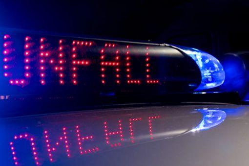 Verkehrsunfall wegen zu hoher Geschwindigkeit