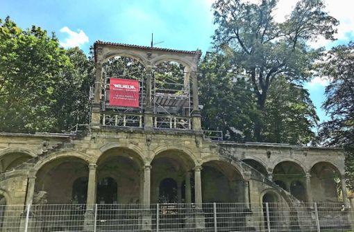 Die Lusthaus-Ruine wird saniert