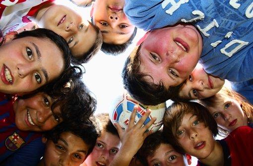 Elf Freunde, ein Ball und die    Lektion fürs Leben