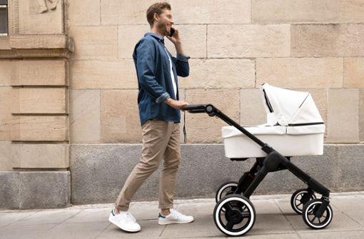 Der E-Kinderwagen, ein  Männertraum