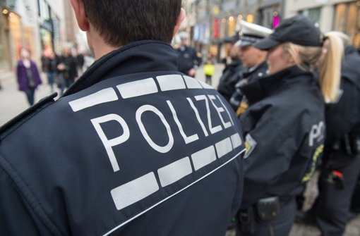 In Bruchsal mussten Polizisten bei einer Kundgebung einschreiten (Symbolbild). Foto: dpa
