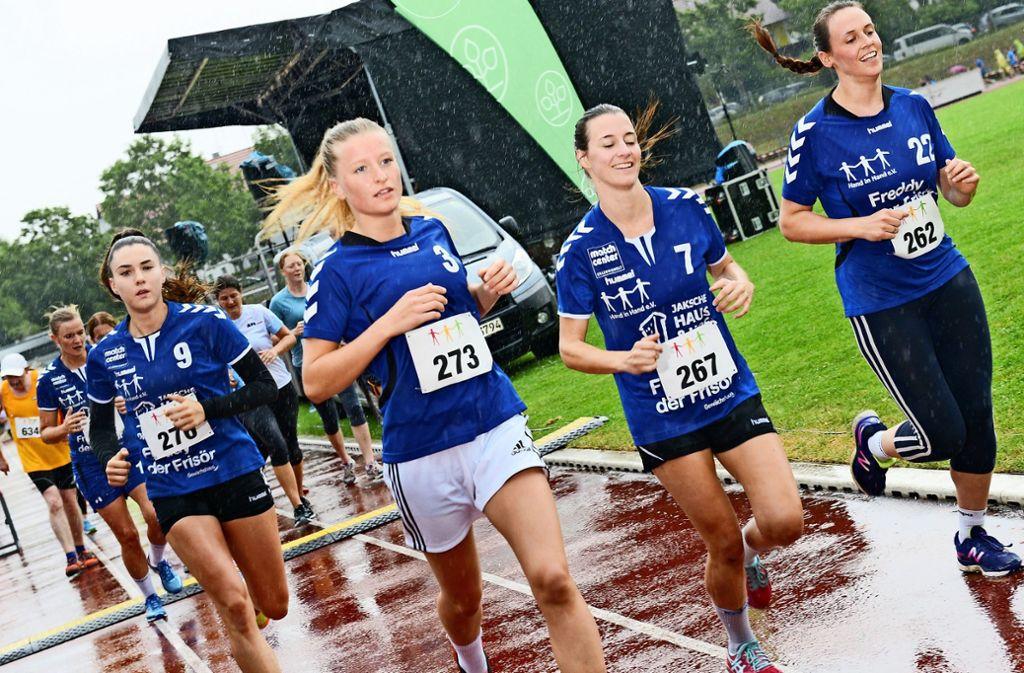 Laufen für den guten Zweck: Am 20. Juli ist es wieder so weit, dann werden Spenden fürs Kinderhospiz gesammelt. Foto: privat