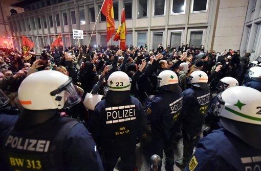 Pegida-Anhänger wieder auf der Straße