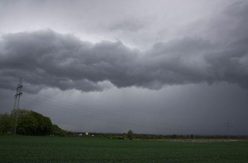 Wetterdienst warnt vor Starkregen und Gewitter