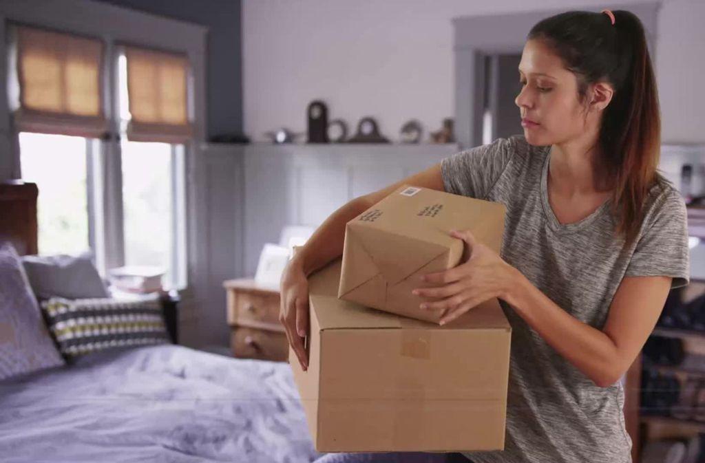 Verpacken war gestern – zumindest für Amazon-Kunden aus den USA. Foto: Sat1.