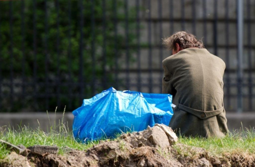 Ehe Menschen obdachlos werden, muss der Staat Betroffenen Wohnraum anbieten. Foto: dpa