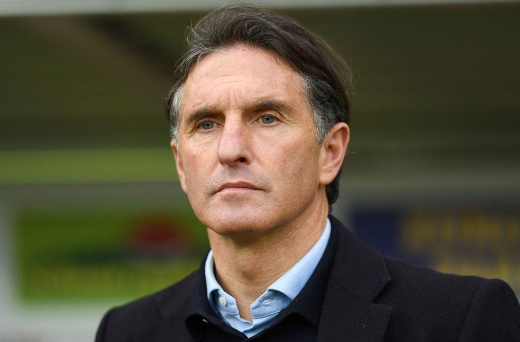 Ex-VfB-Trainer Bruno Labbadia lässt kein gutes Haar an Michael Reschke. Foto: dpa