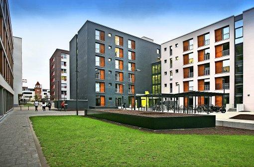 Weitere  Bausteine im  neuen Stadtquartier