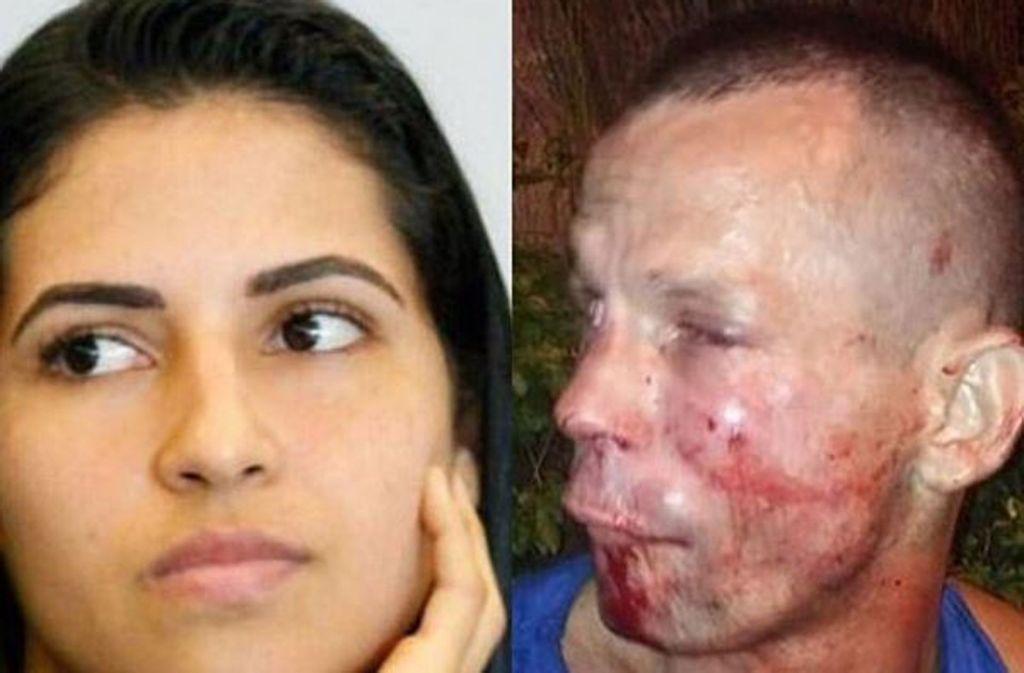 Kampfsportlerin Polyana Viana wird überfallen und verprügelt ihren Angreifer. Foto: Instagram @danawhite
