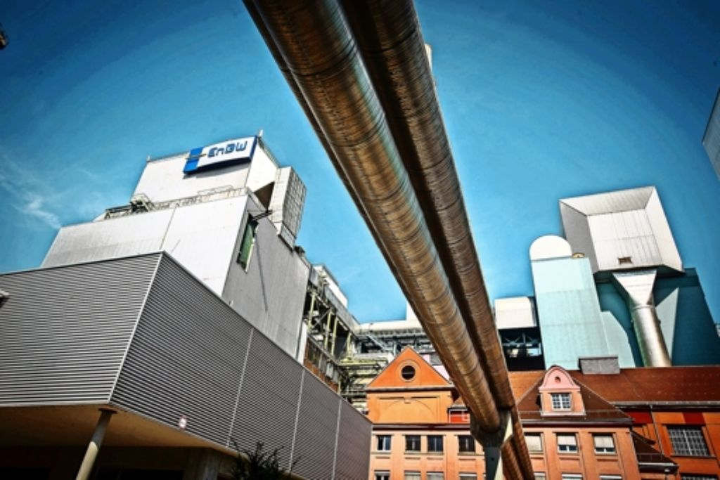 Das Kraftwerk Münster versorgt die  Landeshauptstadt in der kalten Jahreszeit mit Fernwärme. Foto: Achim Zweygarth