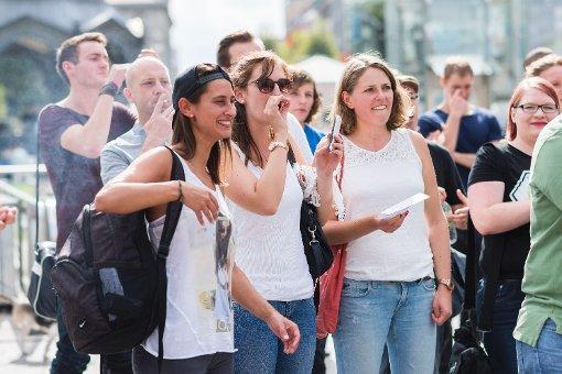 Stuttgart singt Arschloch gegen Fremdenfeindlichkeit