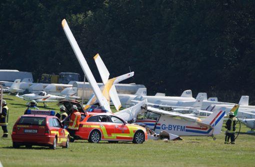 Startendes Flugzeug prallt auf Cessna – vier Verletzte