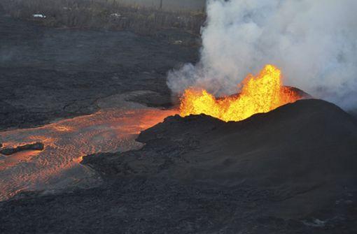 Lava des Kilauea verschluckt komplette Ortschaft