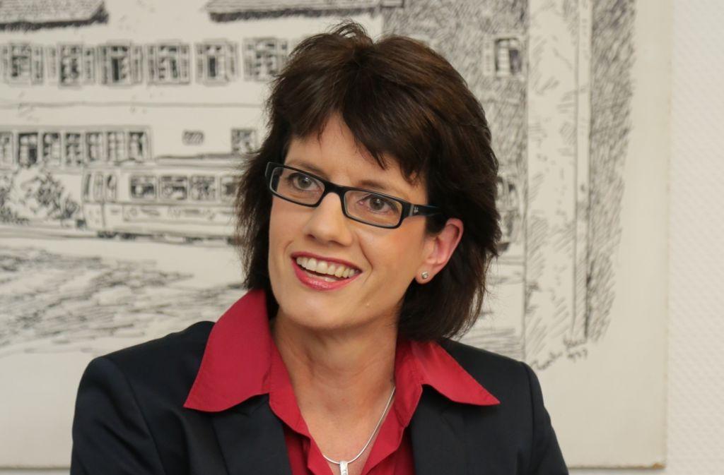 Gabriele Zull möchte Oberbürgermeisterin in Fellbach werden. Foto: Patricia Sigerist