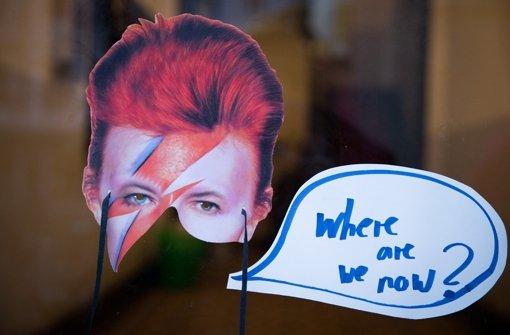 David Bowie rockt Vinyl-Charts
