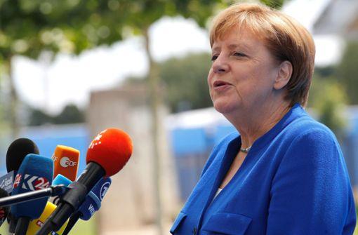 Angela Merkel wehrt sich gegen Angriffe von Donald Trump