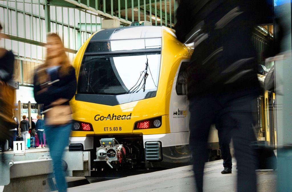 Die Firma Go Ahead übernimmt die Murrbahn Foto: dpa/Fabian Sommer