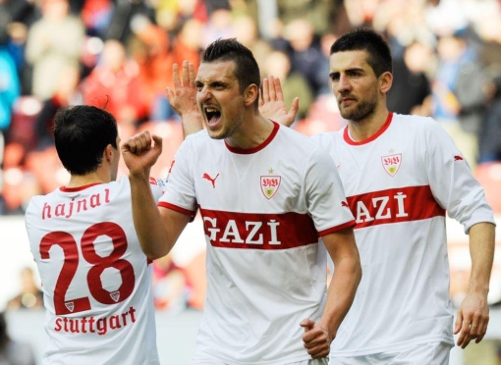 Zwei Länderspiele für Serbien in zwei Tagen: Zdravko Kuzmanovic Foto: dapd