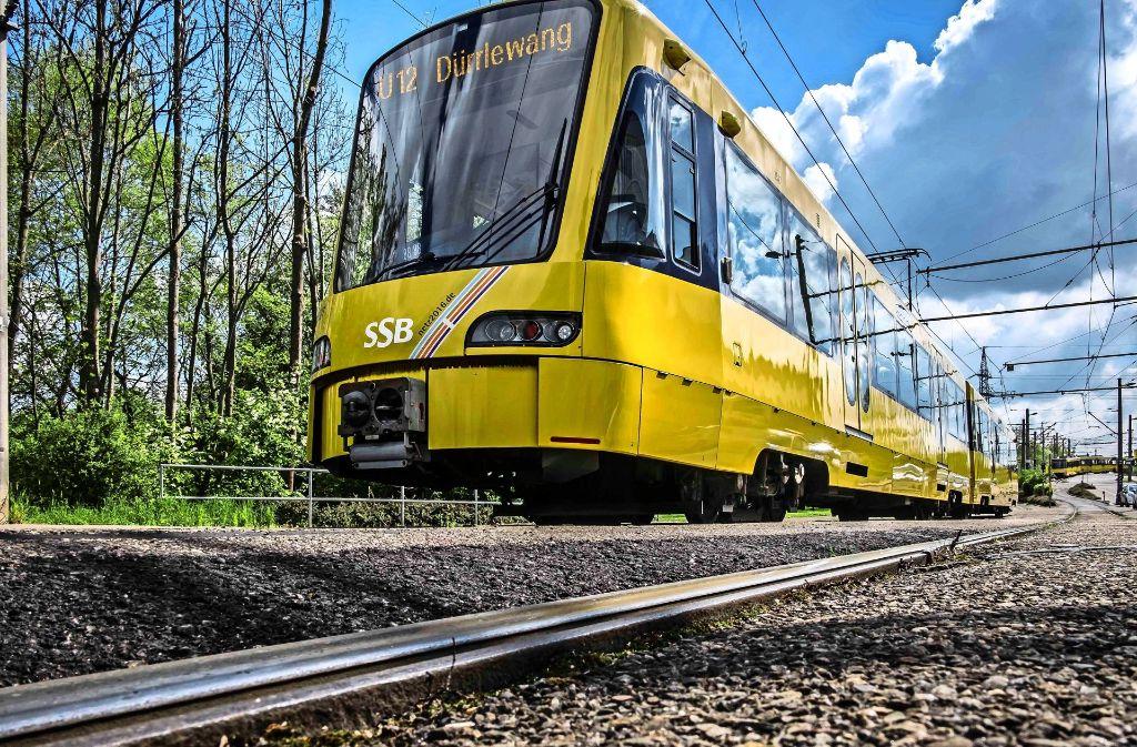 Seit 18 Monaten fahren die Bahnen der U 12 bis nach Dürrlewang. Vom 10. Dezember an verkehren 80-Meter-Züge. Foto: Lichtgut/M. Kovalenko