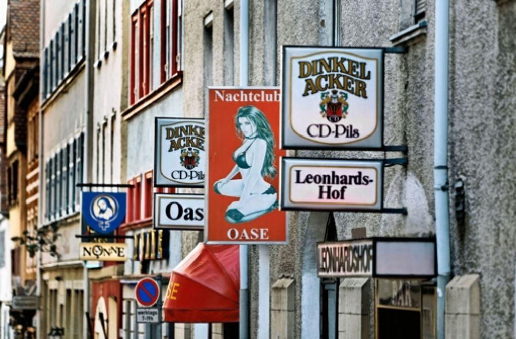 Für das Leonhardsviertel hat die Stadt bereits ein Vorkaufsrecht. Dort will sie die Prostitution zumindest begrenzen. Foto: Heinz Heiss