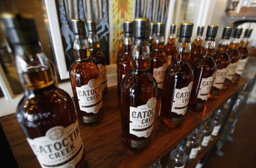 US-Whiskey-Exporte brechen in der EU ein