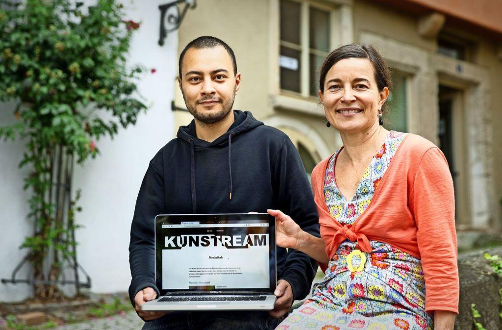 Tiina Kirsi Kern und Ralf Bernhard Braun wollen mit ihrem Startup durchstarten. Foto: Horst Rudel