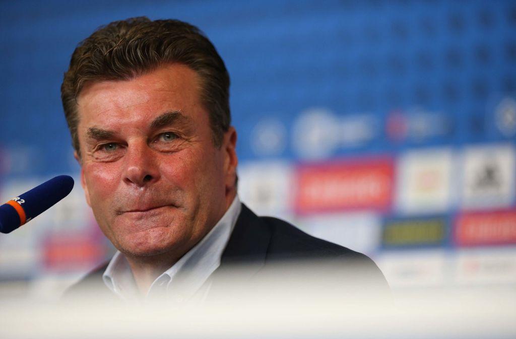 Ein Trainerhaudegen für den HSV: Dieter Hecking will aufsteigen Foto: Getty
