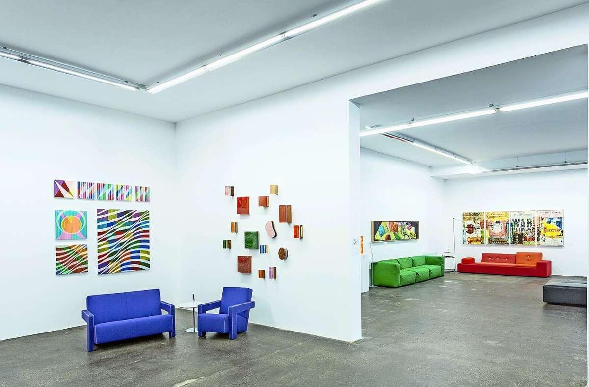 Die Galerie residiert auf dem Waldbaur-Areal. Foto: Galerie Braunbehrens