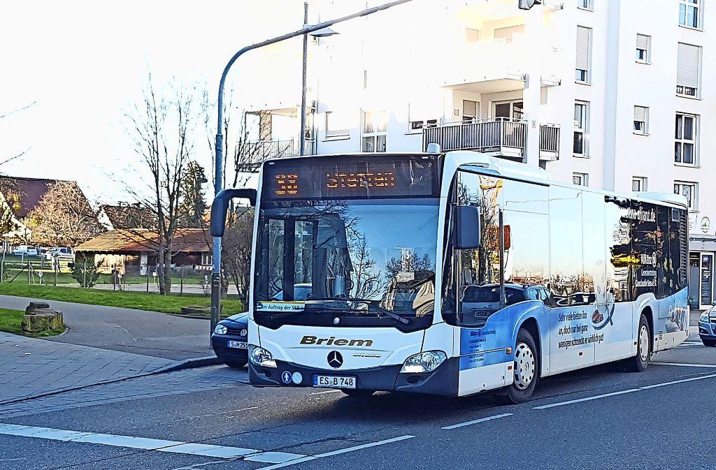 Auf der heutigen 38er-Strecke etwa soll künftig ein Nachtbus von Leinfelden über Echterdingen nach Stetten fahren. Foto: Thomas Krämer