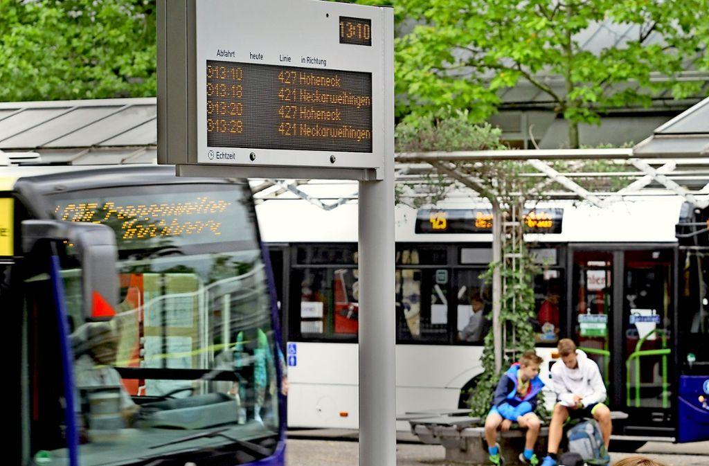 Busfahren in Ludwigsburg wird von August an deutlich billiger. Foto: factum/Archiv