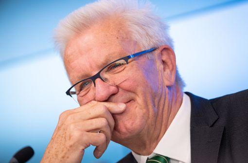 Winfried Kretschmann ist weiterhin beliebt
